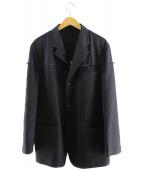 COMME des GARCONS(コムデギャルソン)の古着「切替ジャケット」 ブラック