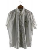 A BATHING APE(ア ベイシング エイプ)の古着「S/Sボタンダウンシャツ」|ホワイト