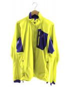 HAGLOFS(ホグロフス)の古着「リザードジャケット」|イエロー