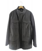Brooks Brothers(ブルックスブラザーズ)の古着「プリマロフトウールコート」|グレー