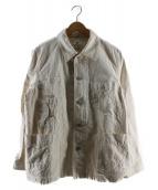 SNOWPEAK(スノーピーク)の古着「オカヤマオックスワークジャケット」|アイボリー
