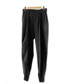rin(リン)の古着「ツータックジップデザインパンツ」|ブラック