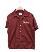 WEIRDO(ウィアード)の古着「モンスターズS/Sシャツ」|エンジ