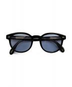 OLIVER PEOPLES(オリバーピープル)の古着「サングラス」|ブラック×ブルー