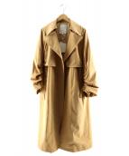 MERCURY DUO(マーキュリーデュオ)の古着「タスラントレンドトレンチ」|ベージュ