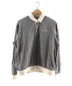 Supreme(シュプリーム)の古着「プルオーバーシャツ」|ホワイト×ブラック