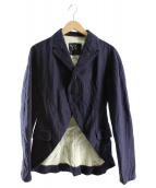 Y's(ワイズ)の古着「デザインジャケット」|ネイビー