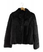 UNTITLED(アンタイトル)の古着「ラビットファージャケット」|ブラック