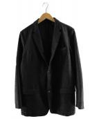 SOLIDO(ソリード)の古着「ウール混ジャージージャケット」 グレー