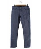PT05(ピーティーゼロチンクエ)の古着「5ポケットテーパードパンツ」|ブルー