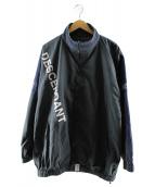 DESCENDANT(ディセンダント)の古着「テラスナイロンジャケット」|ネイビー×グレー