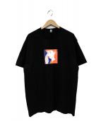 KYNE(キネ)の古着「プリントTシャツ」|ブラック