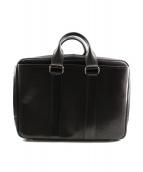 万双(マンソウ)の古着「双鞣和地オーバーナイトバッグ」|ブラック