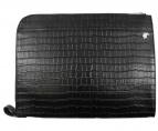 LOVELESS(ラブレス)の古着「型押しクラッチバッグ」|ブラック