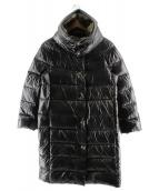 HERNO(ヘルノ)の古着「リバーシブルダウンコート」|ブラック
