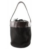 Cinquanta(チンクアンタ)の古着「巾着トートバッグ」|ブラック