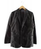 Johnbull(ジョンブル)の古着「モールスキンラペルドジャケット」|ブラック