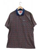 Supreme(シュプリーム)の古着「Bridle Print Polo」|ブルー