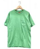 Supreme(シュプリーム)の古着「ポケットTシャツ」|グリーン