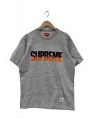 Supreme(シュプリーム)の古着「Flame S/S Top Tee」|グレー