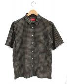 Supreme(シュプリーム)の古着「Plaid S/S Shirt」|グリーン×ブラウン