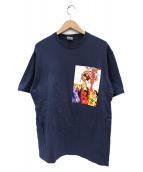 Supreme(シュプリーム)の古着「グラフィックTシャツ」|ネイビー