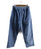 BUTTERGOODS(バターグッズ)の古着「コーデュロイパンツ」|ブルー
