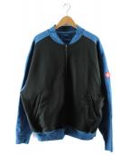 C.E(シーイー)の古着「スウェットブルゾン」 ブルー