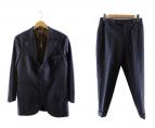 BRUNELLO CUCINELLI(ブルネロクチネリ)の古着「ウールセットアップスーツ」|ネイビー