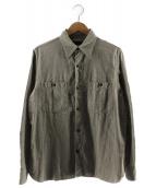 FULLCOUNT(フルカウント)の古着「25周年記念ワークシャツ」|グレー
