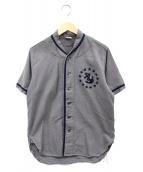 THE REAL McCOYS(リアルマッコイズ)の古着「ベースボールシャツ」|グレー
