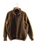 GOLDWIN(ゴールドウィン)の古着「フリースジャケット」|ブラウン