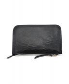 SLOW(スロウ)の古着「カードケース付財布」 ブラック