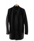 Denham(デンハム)の古着「チェスターコート」|ブラック