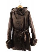 MOGA(モガ)の古着「ブライトダウンコート」|ブラウン