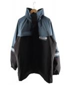AFFIX(アフィックス)の古着「ボーダーパーカー」|ブラック