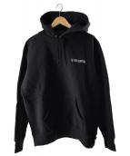 Supreme(シュプリーム)の古着「1-800フーデッドスウェットシャツ」|ブラック