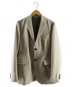 lideal(リディアル)の古着「ウールテーラードジャケット」|ベージュ