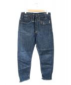 LEVIS RED(リーバイスレッド)の古着「ヘンプ混シンチバックデニムパンツ」|インディゴ