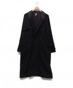 YANTOR(ヤントル)の古着「ウールジャージーコート」 ブラック