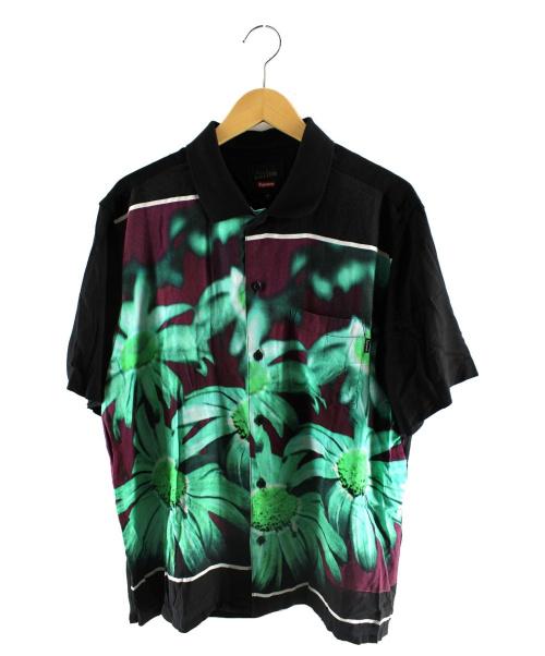Supreme × Jean Paul Gaultier(シュプリーム × ジャンポールゴルチエ)Supreme × Jean Paul Gaultier (シュプリーム × ジャンポールゴルチエ) Flower Power Rayon Shirt ブラック サイズ:Mの古着・服飾アイテム