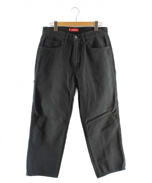 Supreme(シュプリーム)Supreme (シュプリーム) ペインターパンツ ブラック サイズ:SIZE 32の古着・服飾アイテム