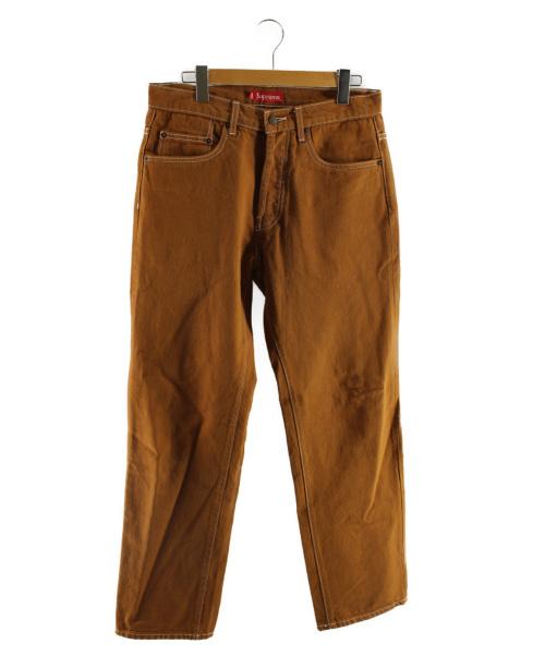 Supreme(シュプリーム)Supreme (シュプリーム) カラーデニム ブラウン サイズ:SIZE 30の古着・服飾アイテム