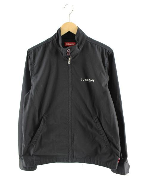 Supreme(シュプリーム)Supreme (シュプリーム) ハリントンジャケット ブラック サイズ:Sの古着・服飾アイテム