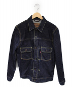 LEVIS(リーバイス)の古着「セカンドタイプデニムジャケット」|インディゴ