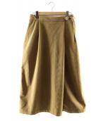 THE NORTHFACE PURPLELABEL(ザノースフェイスパープルレーベル)の古着「コーデュロイフィールドスカート」 ベージュ