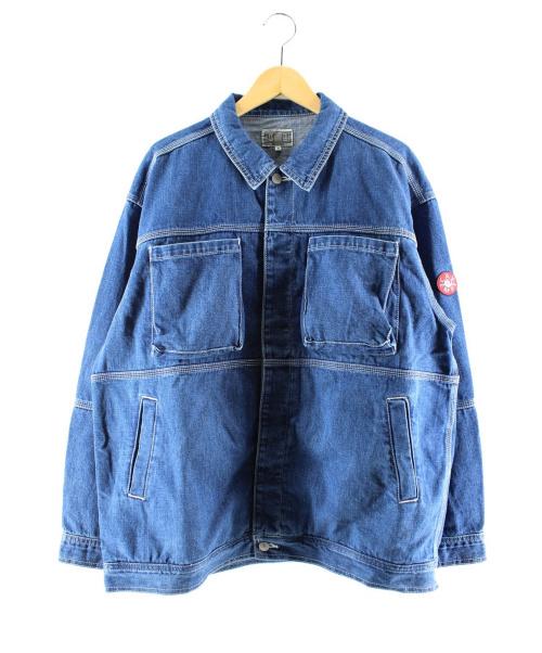 C.E(シーイー)C.E (シーイー) パネルデニムジャケット インディゴ サイズ:Mの古着・服飾アイテム