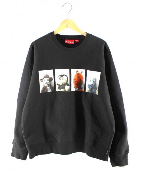 Supreme × Mike Kelley(シュプリーム x マイクケリー)Supreme × Mike Kelley (シュプリーム x マイクケリー) Ahh Youth! Crewneck Sweatshirt ブラック サイズ:Mの古着・服飾アイテム