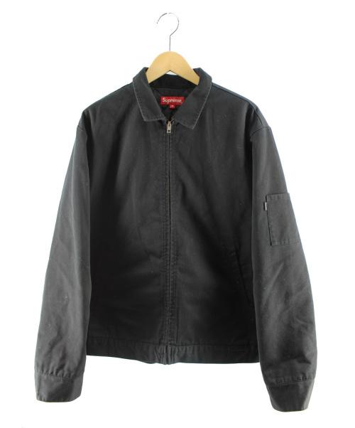 Supreme(シュプリーム)Supreme (シュプリーム) ワークジャケット ブラック サイズ:Mの古着・服飾アイテム