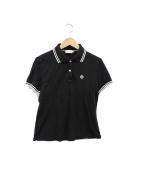 MONCLER(モンクレール)の古着「ポロシャツ」 ブラック